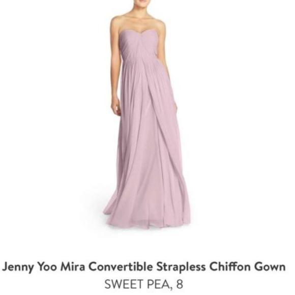 113867072eef JENNY YOO PURPLE SIZE 2 #508 Dresses   Jenny Yoo Mira Convertible ...